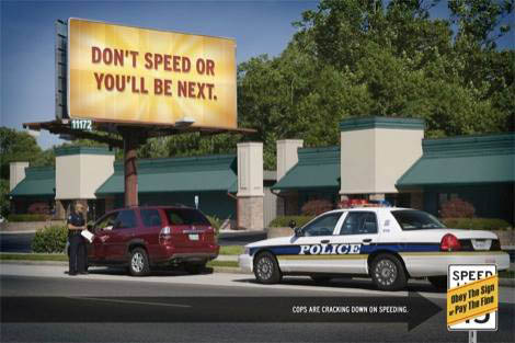 Don't speed of you'll be next - GOHS Operation Southern Shield